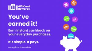 Gift Card Rewards. You've earned it! Earn instant cashback on everyday purchases.