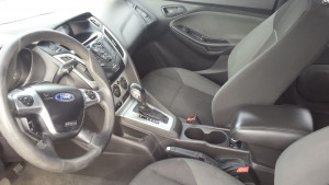 2012 Ford Focus front interior2