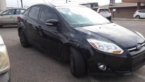 2012 Ford Focus right side front angle