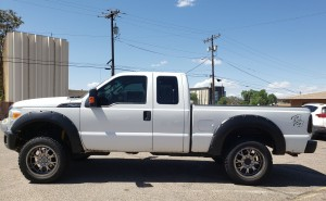 2012 Ford F250 superduty left side