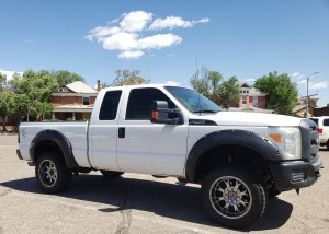 2012 Ford F250 superduty right side